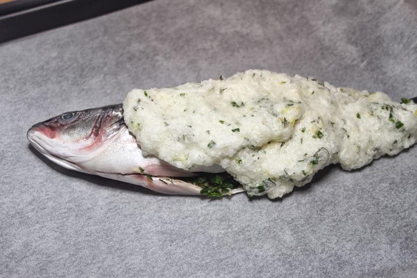 Ryba w soli.