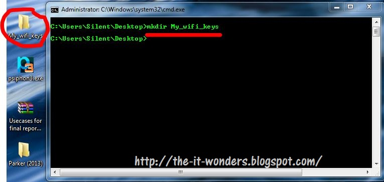 Recover All Saved wifi Password (only for win 7