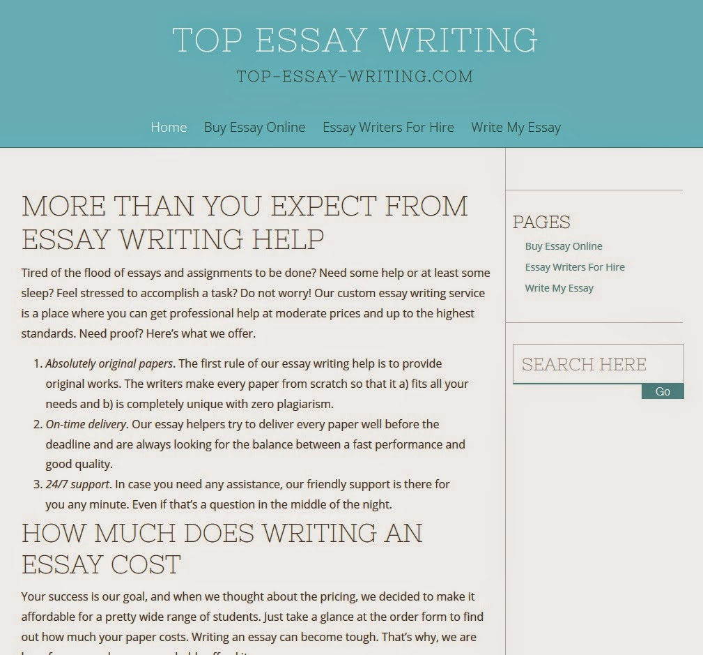 top essay writing services There are many essay writing services that think they are on top, so don't be cheated and check out this true list of the best.