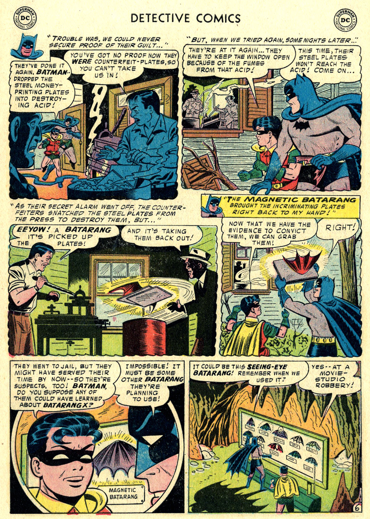 Read online Detective Comics (1937) comic -  Issue #244 - 8