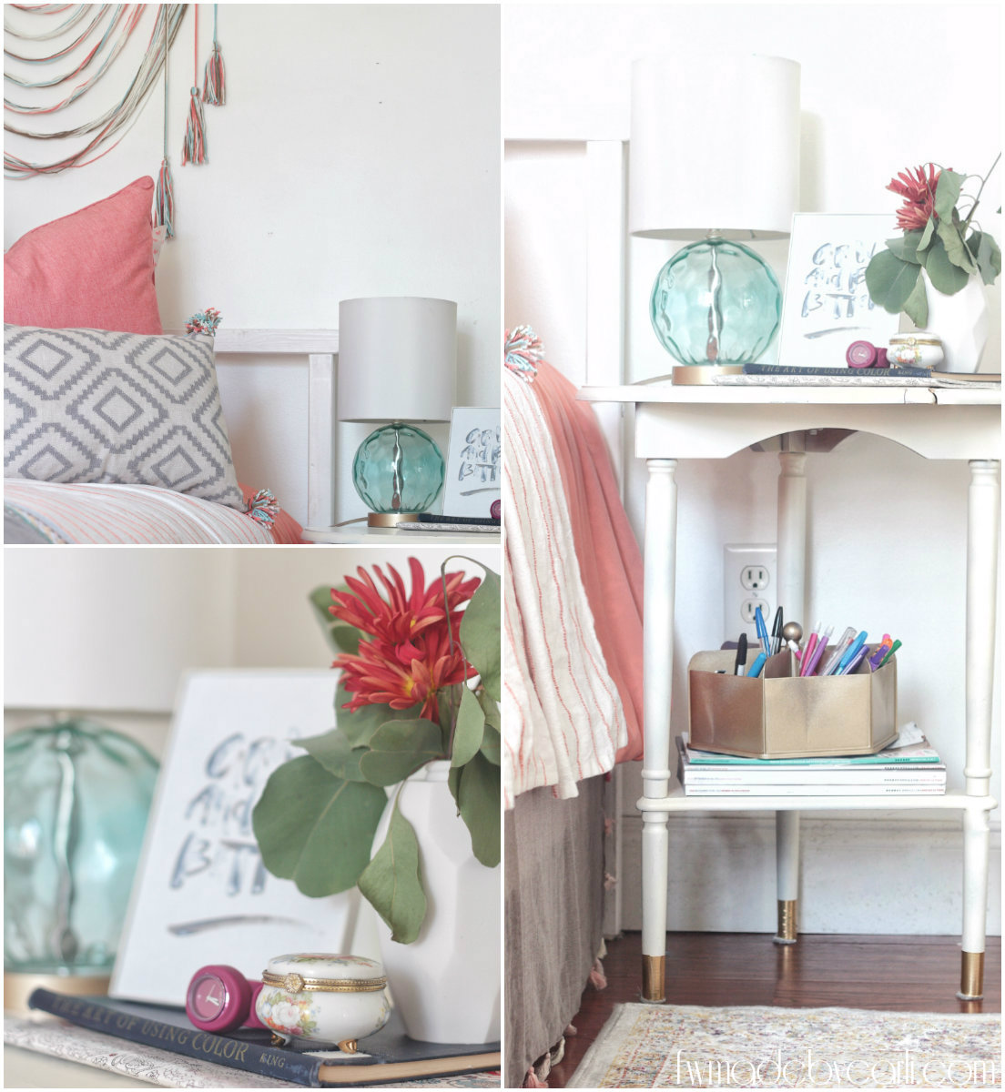 Before And After Merging Two Rooms Has Created A Super: My Daughter's Room: Pre-Teen Bedroom Refresh Reveal