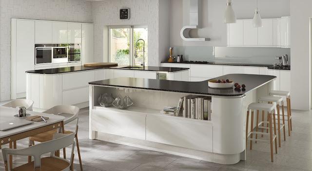 Ini Dia Warna Paling Populer Untuk Kitchen Set Mewah Anda
