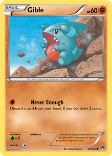 Gible BREAKpoint Pokemon Card
