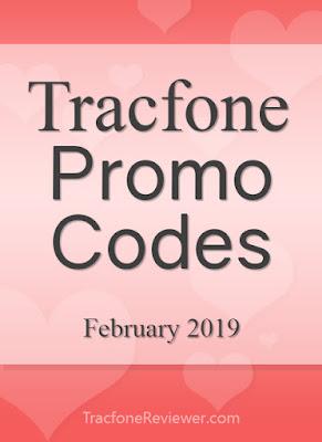 tracfone codes february 2019