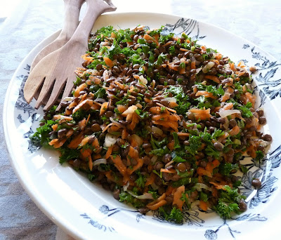 Lentil, Carrot, & Parsley Salad