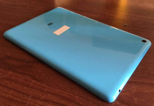 Xiaomi Mi Pad back