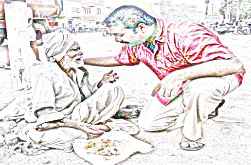 cara memberi makanan menurut alqur'an