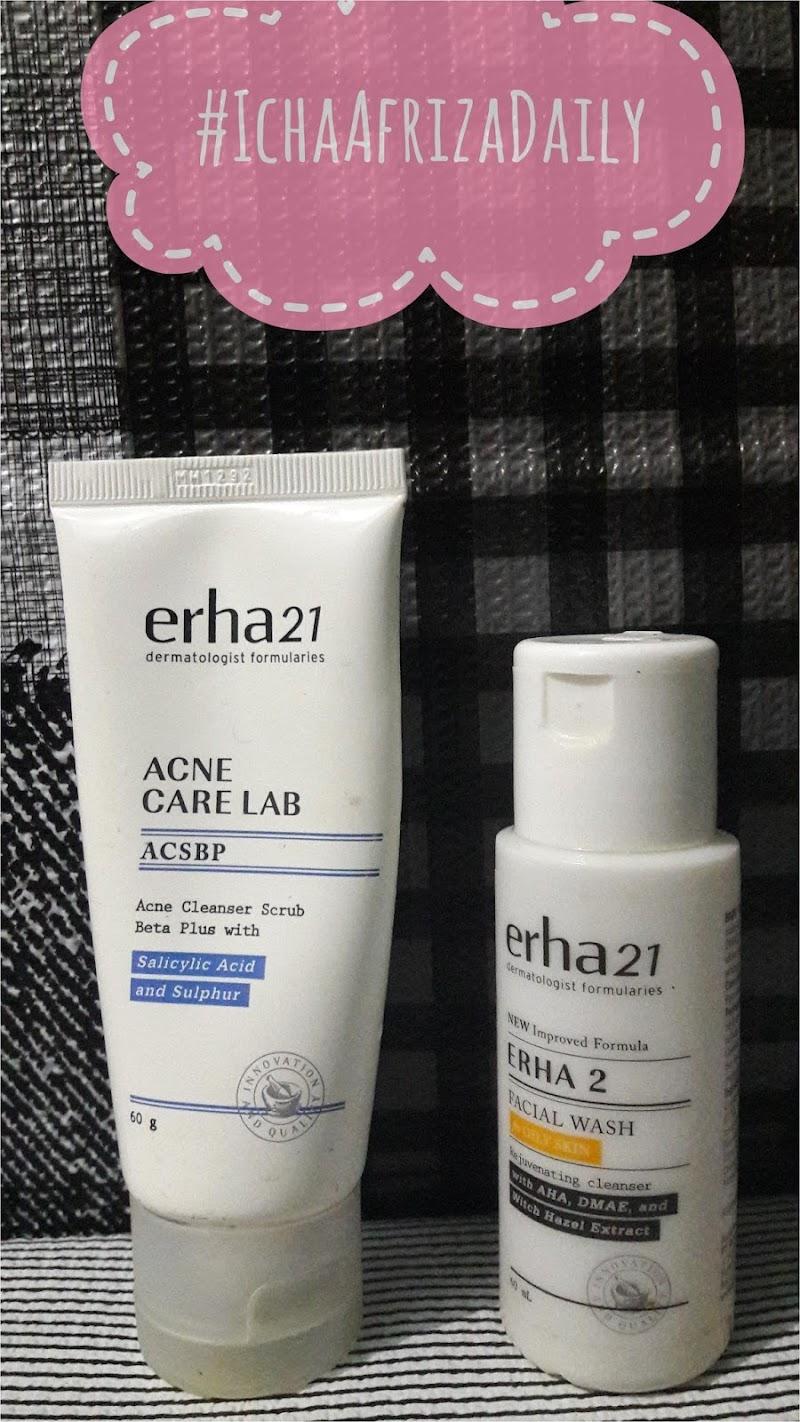 Facial Wash Erha Untuk Kulit Berminyak dan Berjerawat