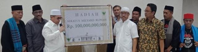 Kampret Ditantang Buktikan Kecurangan Pemilu : Relawan Tim 7 Siapkan Hadiah Rp 100 Miliar