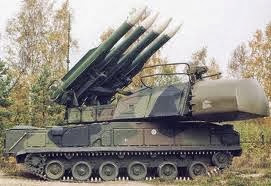 Sistema antiaéreo BUK M1-2