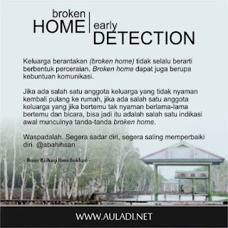 Broken Home Early Detection