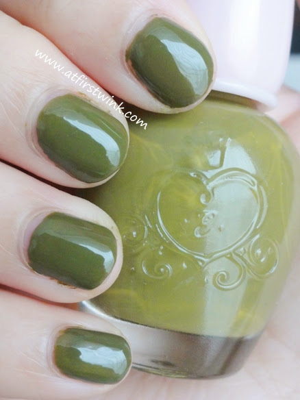 Etude House nail polish DGR704 - Only Olive