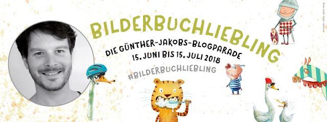 #Bilderbuchliebling: Günther Jakobs und die wilden Piraten. Bei dieser Blogparade könnt Ihr tolle Kinderbücher kennenlernen!