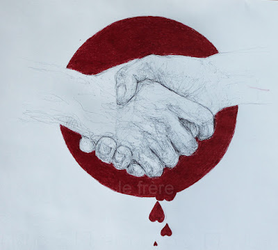 """Pacto"",""sangre"",""blood"",""promise"",""dibujo"",""pen"",""boli"",""bolígrafo"",""drawing"",""artwork"",""art"",""draw"",""ink"",""bic"""