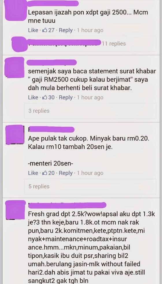 Gaji RM2500 di Malaysia Menjadi Perbualan Hangat