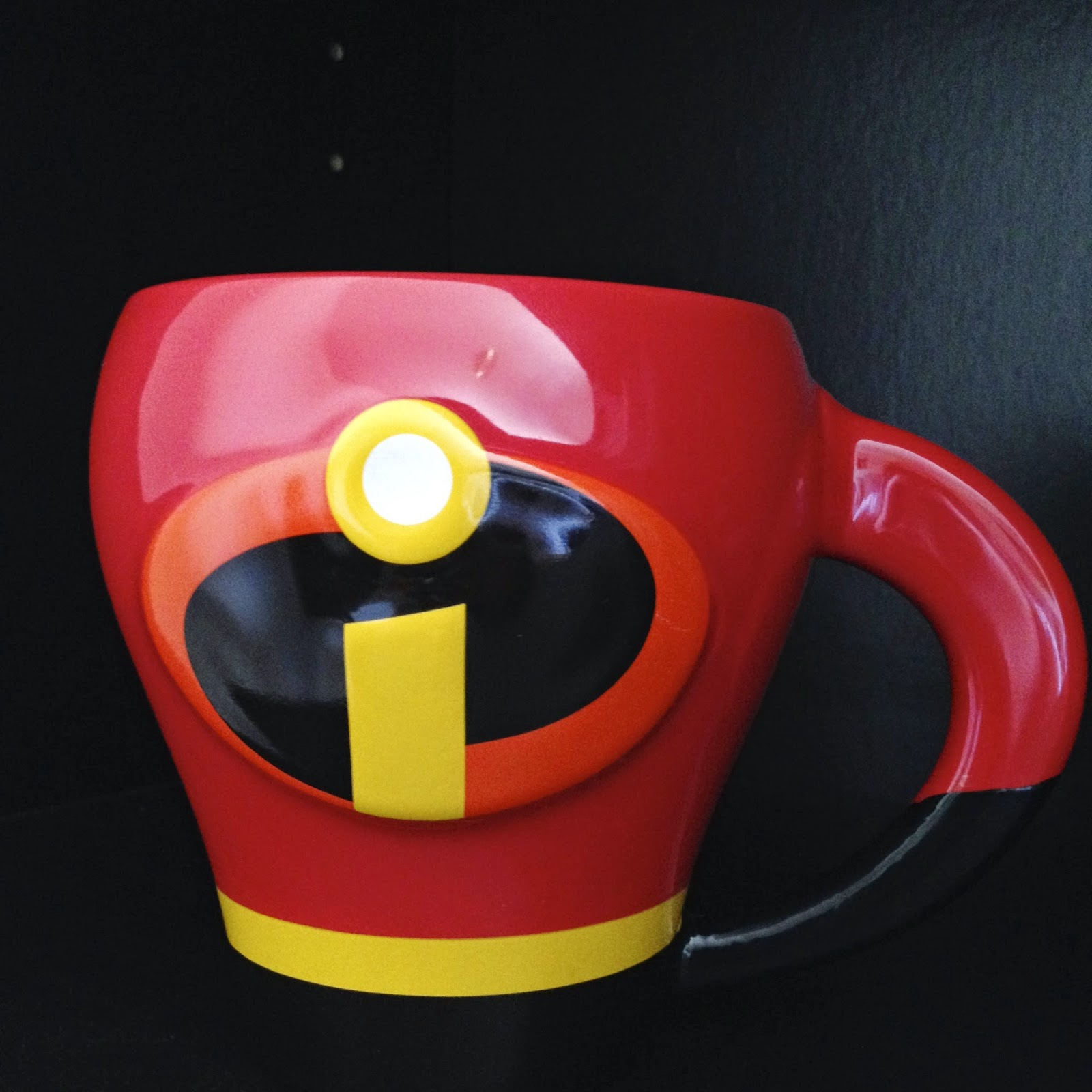 Dan The Pixar Fan The Incredibles 3d Character Mug