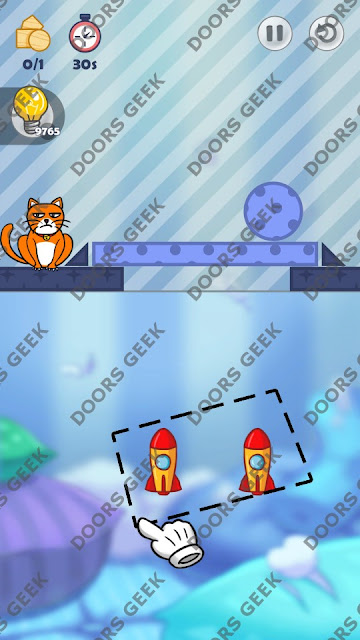 Hello Cats Level 166 Solution, Cheats, Walkthrough 3 Stars for Android and iOS