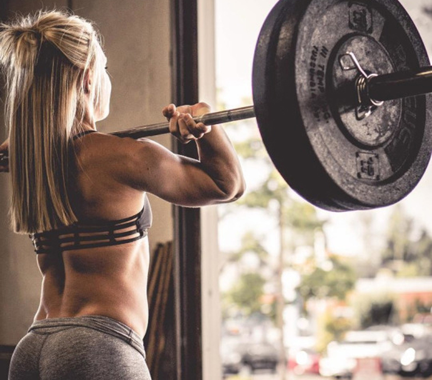 Women Who Lift Strong Lean Muscles Feminine Fit Toned
