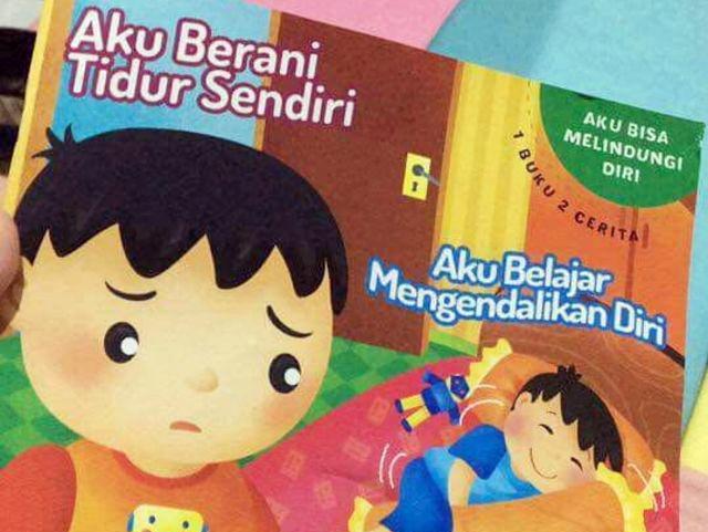 Astagfirullah, Buku 'Aku Berani Tidur Sendiri' Ternyata Mengajarkan Cara Beronani Dan Masturbasi