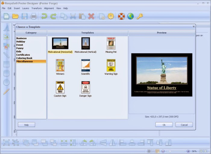تحميل برنامج تصميم بوسترات واعلانات Postrer Designer