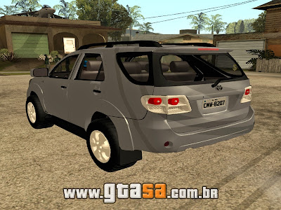 Toyota Hilux SW4 2014 para GTA San Andreas