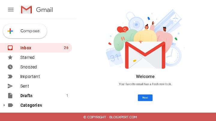 nuevo diseño gmail 2018
