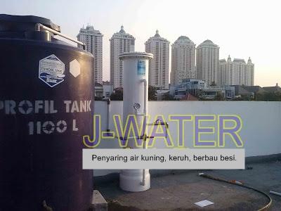 filter air spbu kelapa gading