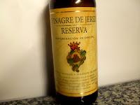 Vinagre de Jerez.