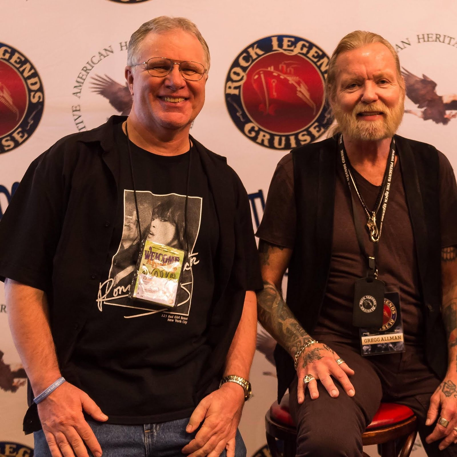 Gregg Allman and I Welcome You to Finding the Right Keys
