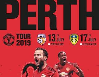 Manchester United Gelar Tur Pramusim 2019 di Perth Australia