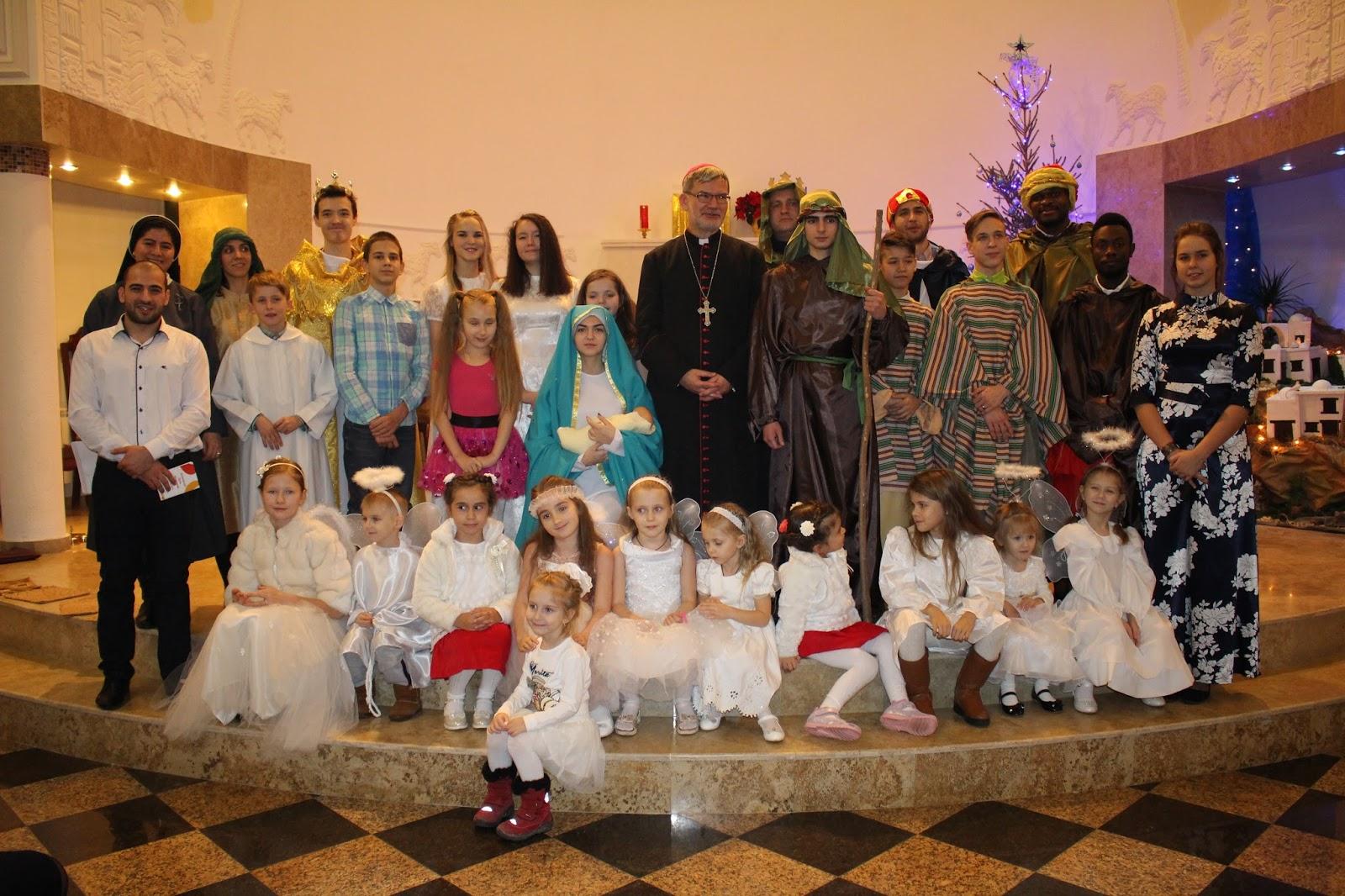 Katholisch in Südrussland: Weihnachten 2017 an der Wolga