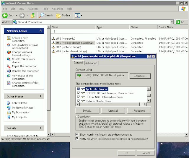 Supratim Sanyal's Blog: AppleTalk protocol support on Windows XP