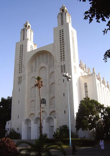 Katedra Świętego Serca Casablanca. Nie działająca