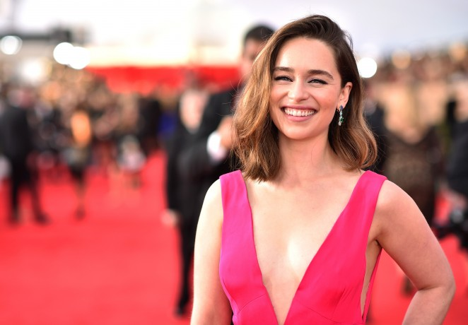 Emilia Clarke – 22nd Annual Screen Actors Guild Awards in Los Angeles