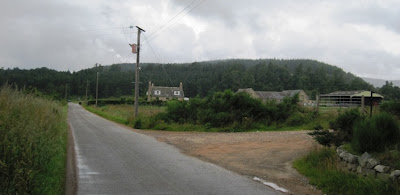 Dalliefour Farm, walks near Ballater