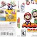 Capa Mario & Luigi Paper Jam 3DS