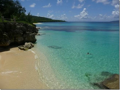 Beach on Saipan