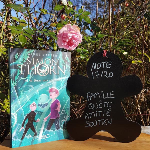 Simon Thorn, tome 3 : Simon Thorn et la fosse aux requins de Aimée Carter