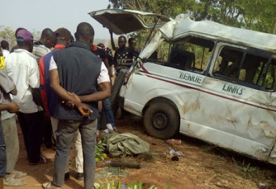 fatal accident gboko benue state