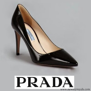 Crown Princess Victoria wore Prada leather point toe pumps