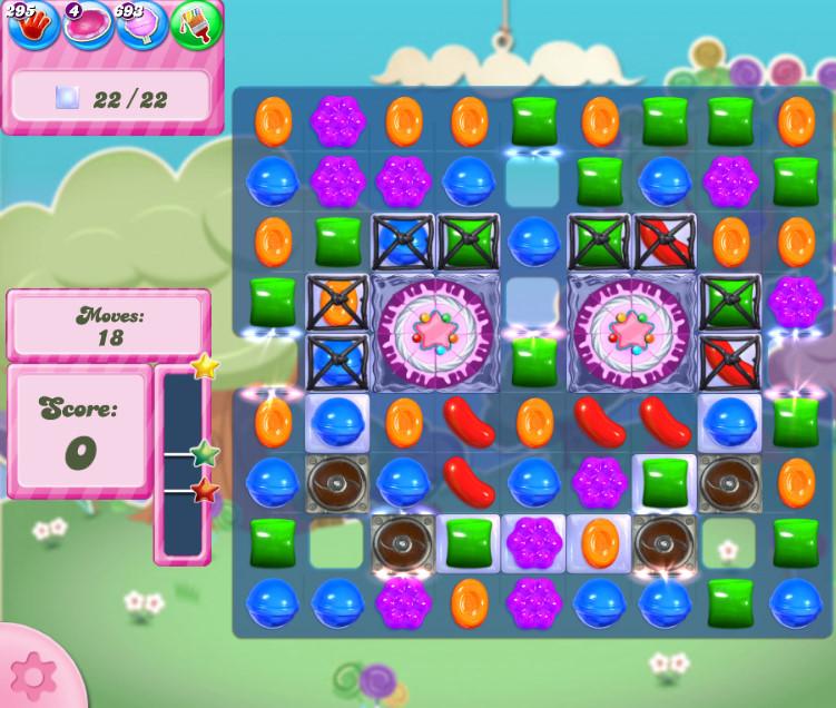 Candy Crush Saga level 2817