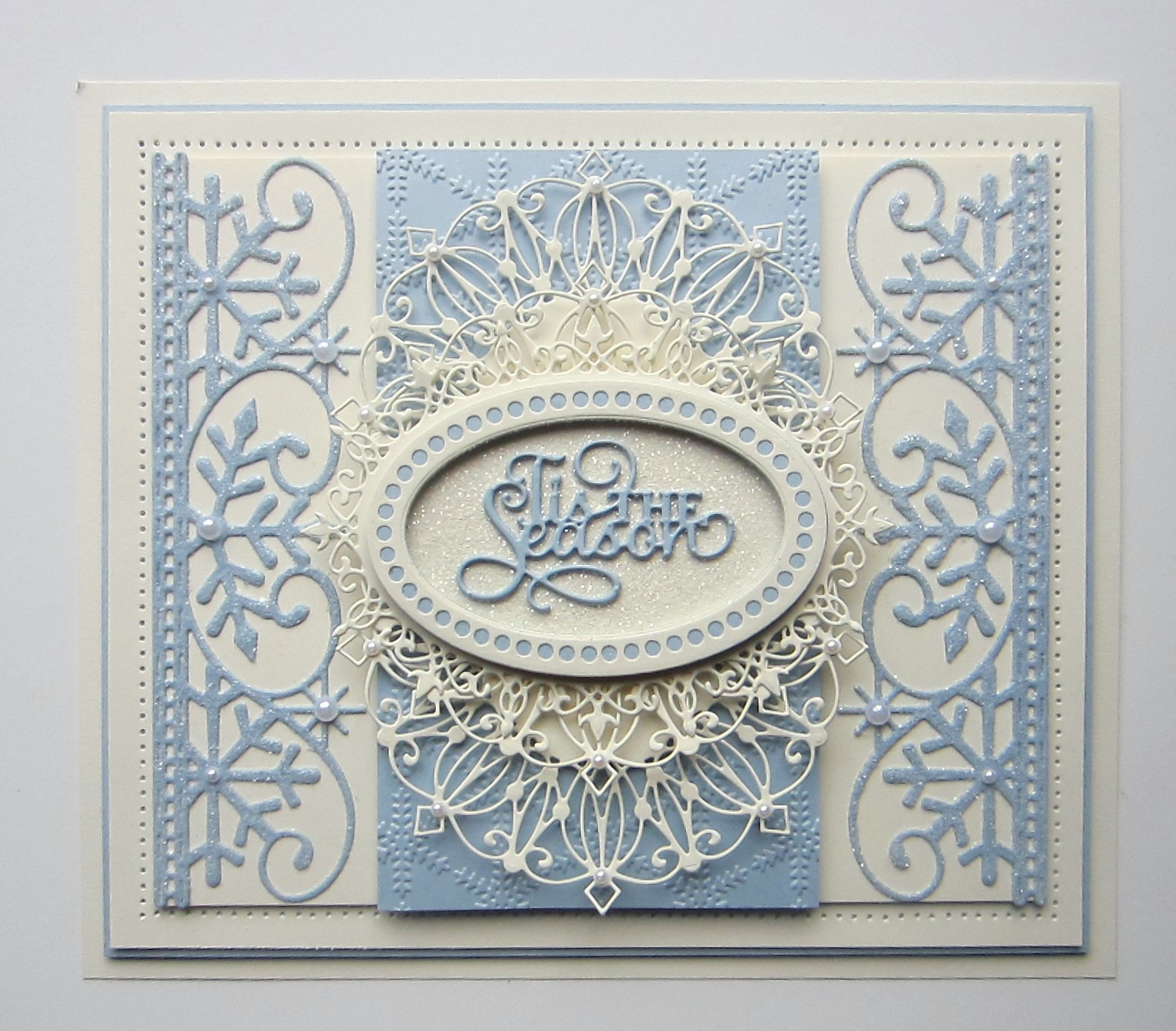 particraft participate in craft frosty snowflake border