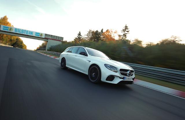 Mercedes AMG E63 S - самый быстрый универсал в мире