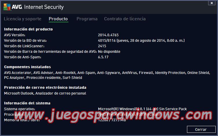 AVG Internet Security v2014.0.4765 Multilenguaje ESPAÑOL Protección Total Para Tu PC 13