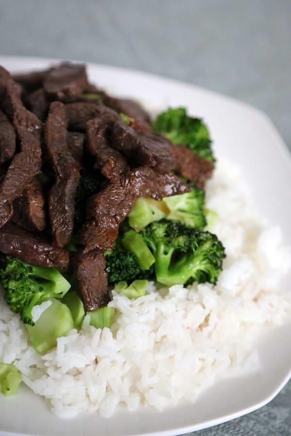 Cách làm Súp lơ xào thịt bò giảm cân