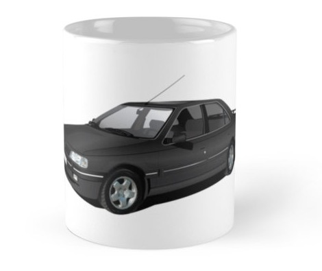 Peugeot 405 coffee mug redbubble