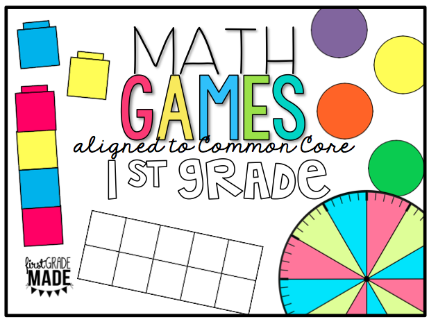 Math Centers and Games BUNDLE