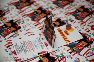 handmade mickey mouse invites