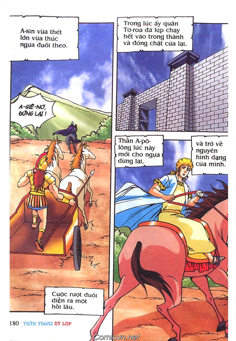 Thần Thoại Hy Lạp Màu - Chapter 61: So tài của hai vị tướng - Pic 9