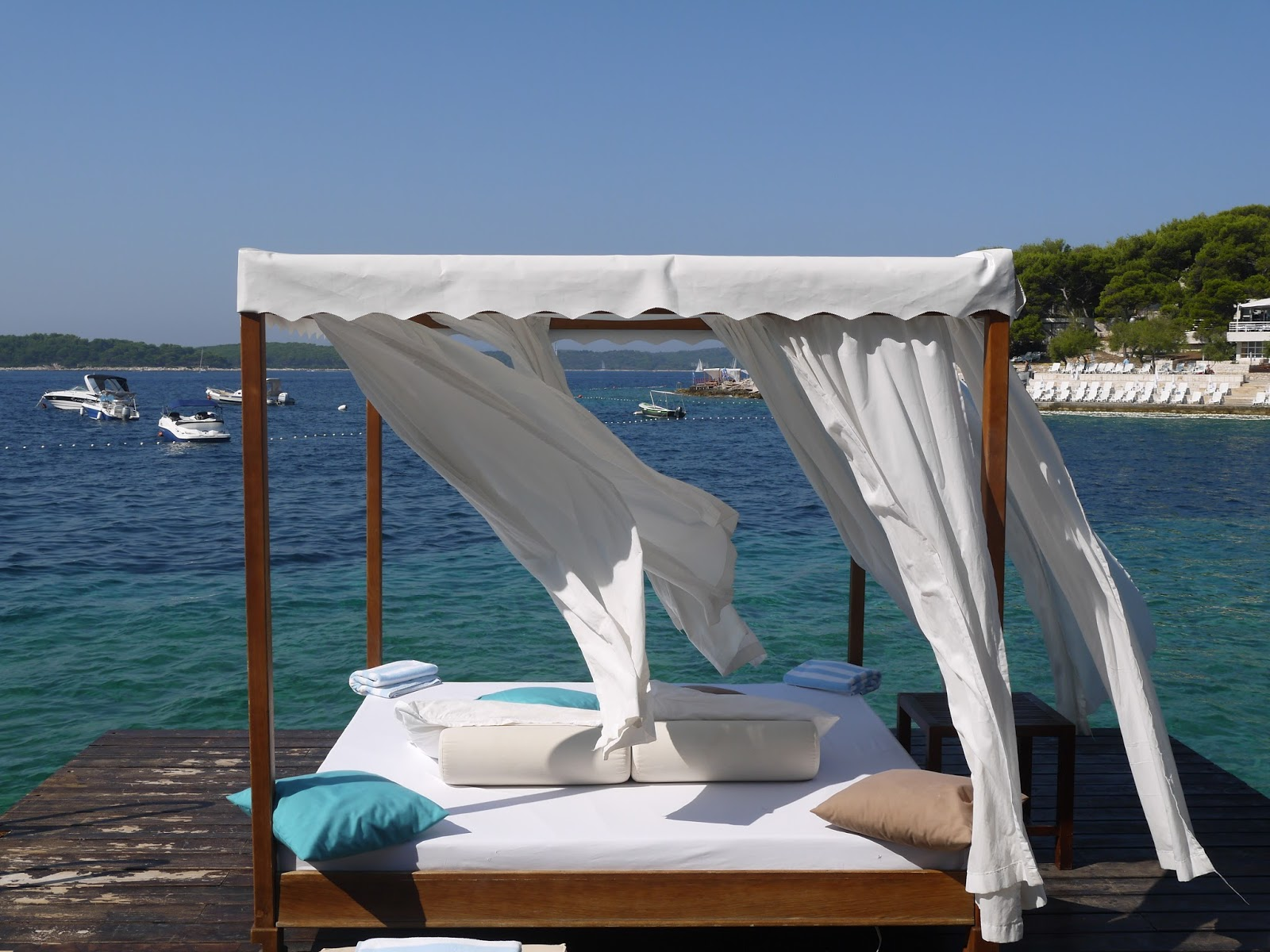 a luxurious day at bonj les bains beach club hvar the lifestyle bonj really is the picture of luxury especially if you define luxury as privacy and excellent service